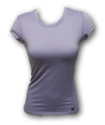 Women's Cool Fit Alo Yoga/Workout Short Sleeve Purple Shirt New With Tags