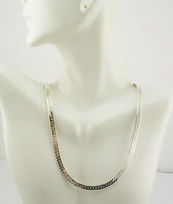 Kenneth Jay Lane  Snake Chain Necklace  17