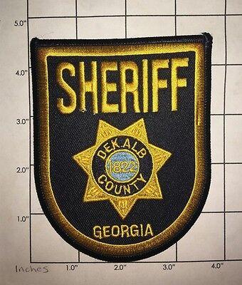 DeKalb County Sheriff Patch - Georgia