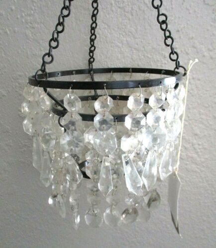 DISCONTINUED ILLUMINATIONS HANGING CHANDELIER CANDLE HOLDER Brand New in Box BIN