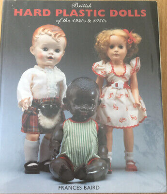 First Edition Hard Plastic Doll's Book 1940s & 1950s Signed By Frances Baird