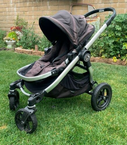 Baby Jogger City Select All Terrain Single Stroller Silver Frame Titanium