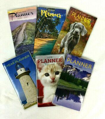 2020-2021 Monthly Calendar Organizer Appointment Book Pocket Planner 4x6 / -