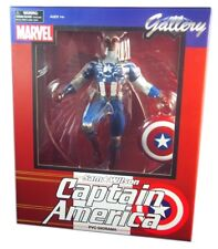 Diamond Select Marvel Gallery, Sam Wilson Captain America PVC Figure 10 inch New