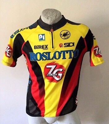 Maglia ciclismo CASTELLI ROSLOTTO italian cycling jersey trikot shirt size L e395829e7