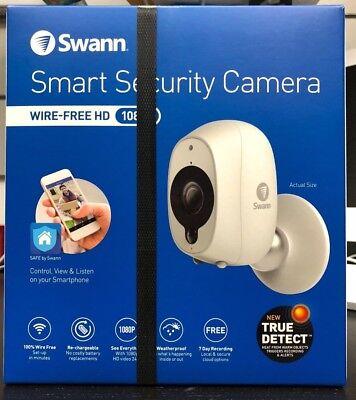 Swann Smart Security Camera Wireless HD 1080p SWWHD-INTCAM BRAND NEW