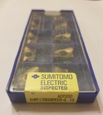 Axmt170508peer-g Acp200 - Sumitomo - 10 Pack - Usa Stock - Brand New