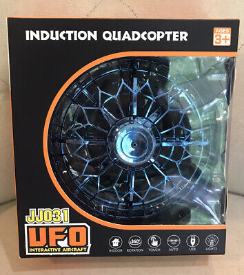 Induction Quadcopter UFO Interactive Aircraft Mini Drone Flying Toy 3+ USB Dispirited