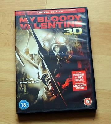 My Bloody Valentine 3D DVD - Halloween, horror, slasher, scary, Jensen Ackles](Halloween 3d Dvd)
