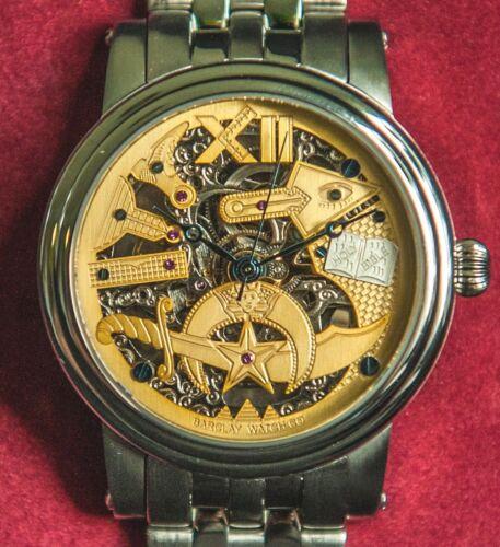 Barclay Shriner Masonic Automatic Wrist Watch -  Support Shriners Hospitals!!