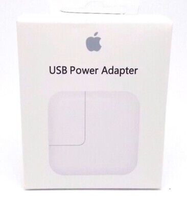 Original Genuine OEM 12W USB Power Adapter Wall Charger Apple iPhone iPad iPod