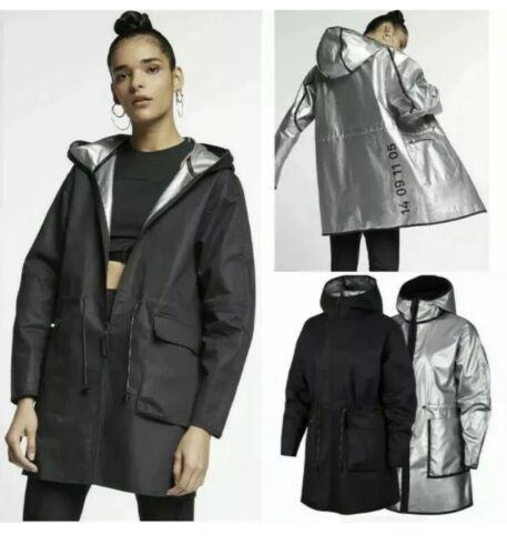 Nike Womens SIZE SMALL Sportswear Tech Pack Reversible Rain