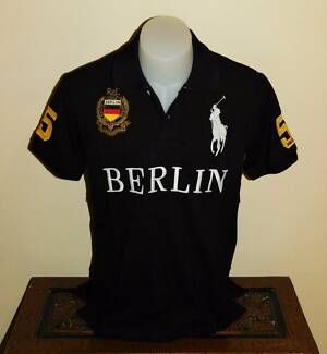 mens black polo shirt melbourne city polo