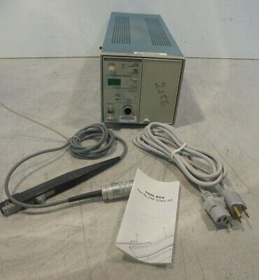 Tektronix Tm502a Mainframe With Am503 Plug-in A6302 Current Probe