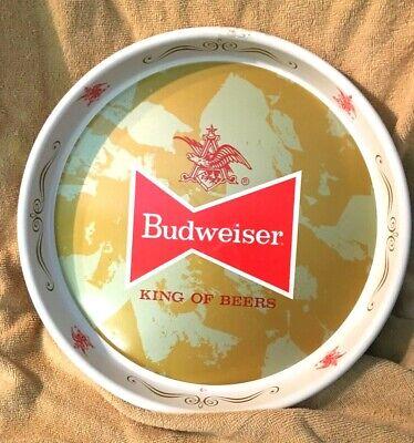 Vintage Budweiser King Of Beers Metal Bar Tray 13 in