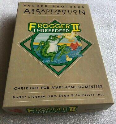 Atari 400/800 Computer Frogger 2 II CIB