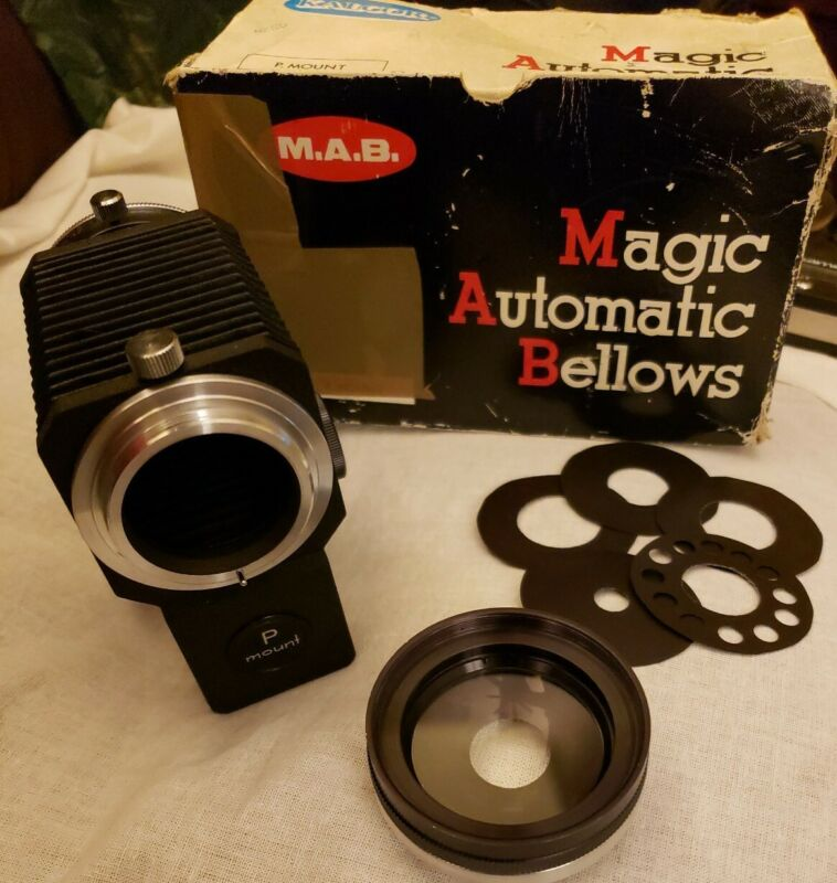 VINTAGE Kalcor Magic Automatic Bellow P Mount M.A.B. Gently used.