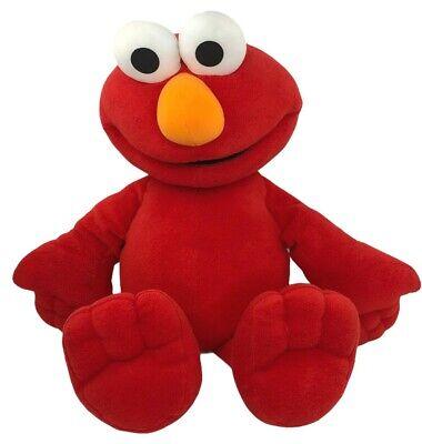 """Fisher Price Elmo Talking Plush Large 26"""" Sesame Street Stuffed Animal Mattel"""