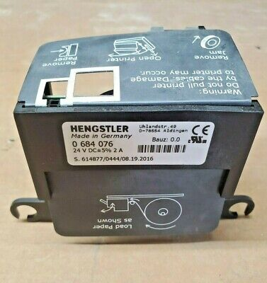M04219a001 Gilbarco Encore 700s 700 500s 500 300 Usb Printer Hengstler