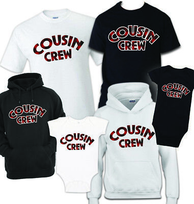 Cousin Crew T shirt celebration toddler youth, Adult, funny gift, family reunion (Family Reunion Gifts)