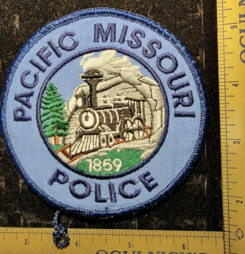 Pacific Missouri 1859 Police Department Officer Patch