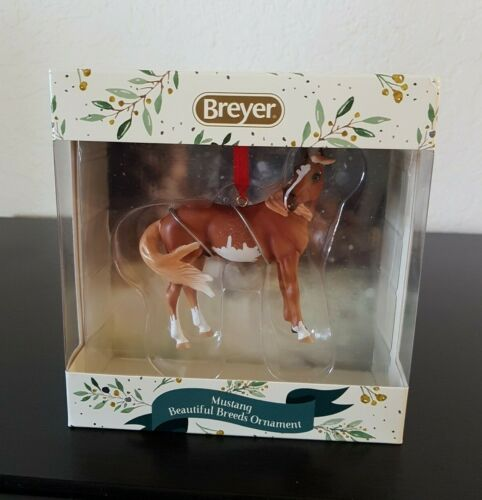 Breyer Horses 2020 MUSTANG BEAUTIFUL BREEDS Christmas ORNAMENT NEW in BOX