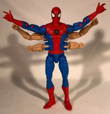 2018 Hasbro Marvel Legends Kingpin Series Six-Arm Spider-Man MISSING 2 FOREARMS