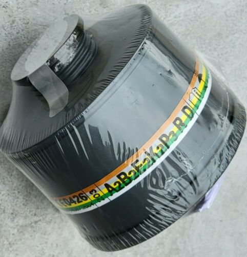 NBC/CBRN 40mm NATO Gas Mask Filter -Sealed Newest Lot Available - Expire 07/2025