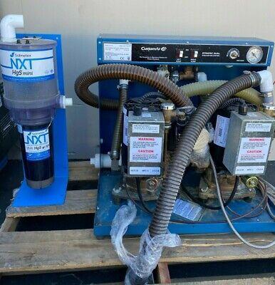 Customair Dentalez Mc-201 Dental Vacuum Pump System Suction Unit With Hg5 Mini