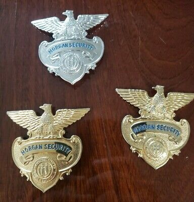 Morgan Security Enforcement Officer Badge Commonwealth Of Kentucky