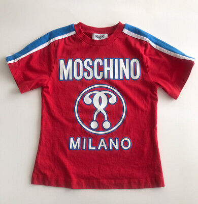 Moschino Kids Boys T Shirt Size 6