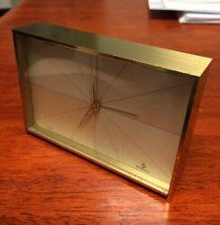 [COL] Brass Swiss Made CYMA AMIC Vintage Alarm Clock 15 Jewels - Working