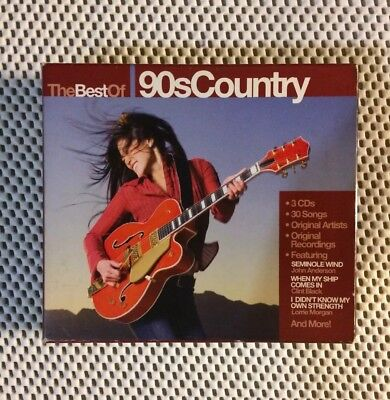 The Best Of 90's Country [Box] by Various Artists (CD, Dec-2007, BMG