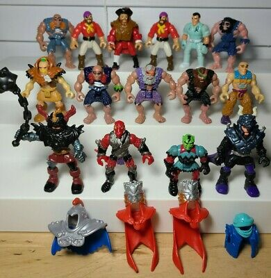 HUGE LOT Of Vintage Fisher Price Imaginext Caveman Knights Goblin Pirates