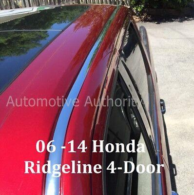 For 2006-2014 HONDA RIDGELINE CHROME ROOF TRIM MOLDING KIT