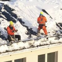 Roof top snow removal & ice removal - Gaudon Roofing