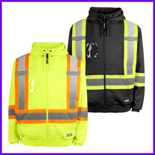 Holmes Workwear HI-VIS Hoodie, Size M ~ 4X