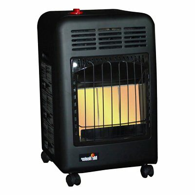 Mr. Heater 18000 BTU 450 Sq. Ft. Radiant Propane Cabinet Out