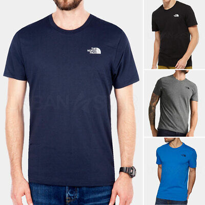 The North Face T Shirt Mens Simple Dome Tee Crew Neck Casual Short Sleeve Top