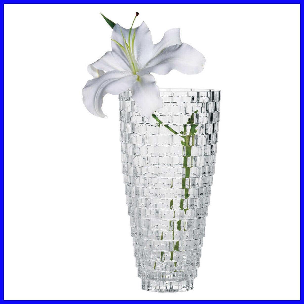 palazzo 12 crystal vase