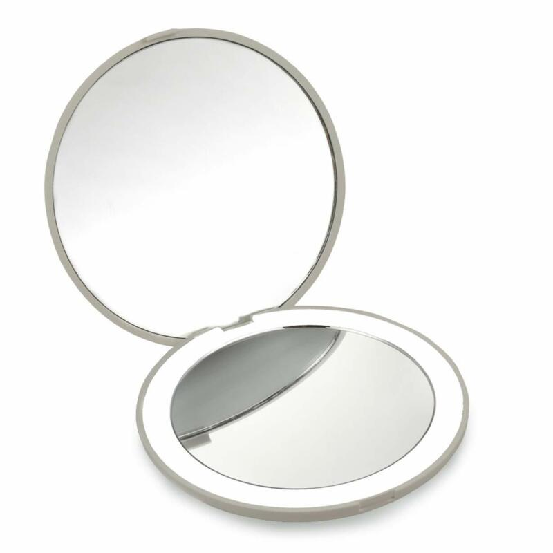 Best Compact Mirror- 10X MAGNIFYING Mirror with Light- Small