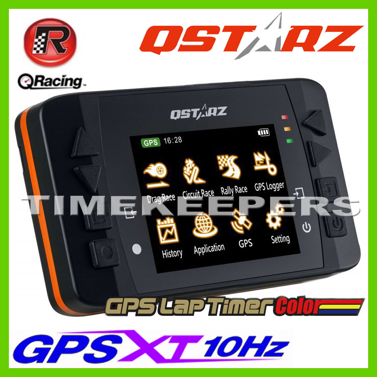 qstarz 2 4 lcd lt q6000s mx 10hz gps data logger racing. Black Bedroom Furniture Sets. Home Design Ideas
