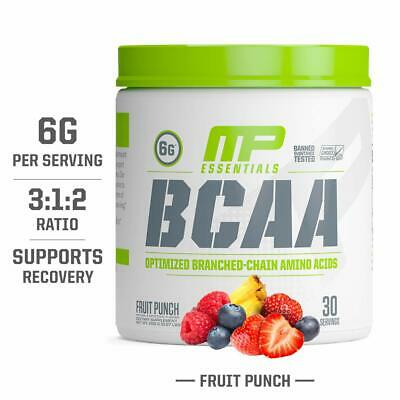 BCAA Powder Post Workout Recovery Drink Muscle Building Supplements Amino Acids