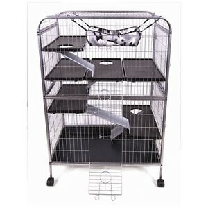 Large cage for guinea pigs, ferrets, bunnies, rats