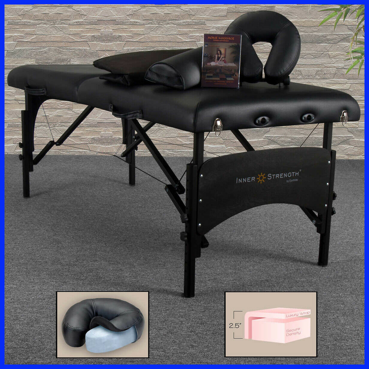 Earthlite, Inner Strength PRO Massage Table , Deluxe Carry C