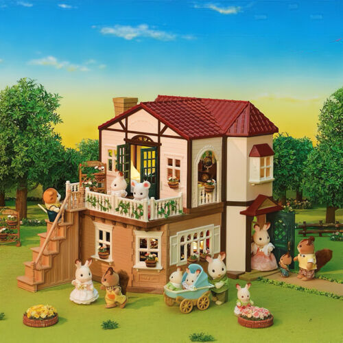 Sylvanian Families Calico Critters Classic Red Roof Country Home