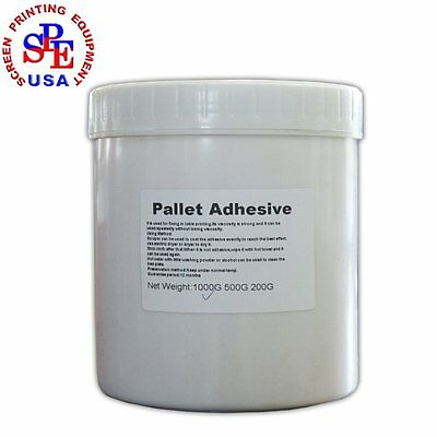 500gbottle Pallet Adhesive For Screen Printing Diy Screen Printing Consumable