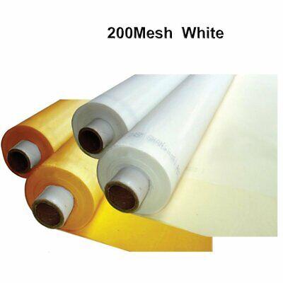 3 Yards 50 Silk Screen Printing Mesh Fabric 200mesh80t White