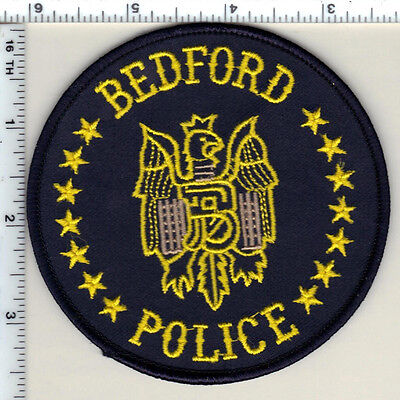 Bedford Police (Texas) Shoulder Patch from 1993