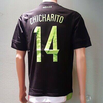 Chicharito 14 2015 Copa America Mexico Home Soccer Jersey XLarge image